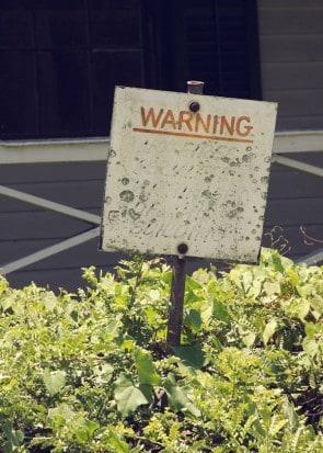 Picnic-warning